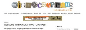 Digiscrapping Tutorials